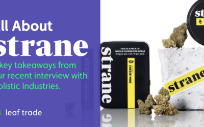 Protected: All about Strane: 4 Key Takeaways From Our Interview With Holistic Industries