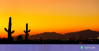 Wholesale Cannabis Platform Leaf Trade Now Used by Majority of Cannabis Companies in Arizona
